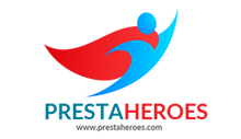 Logo PrestaHeroes Heroic Support and Solutions