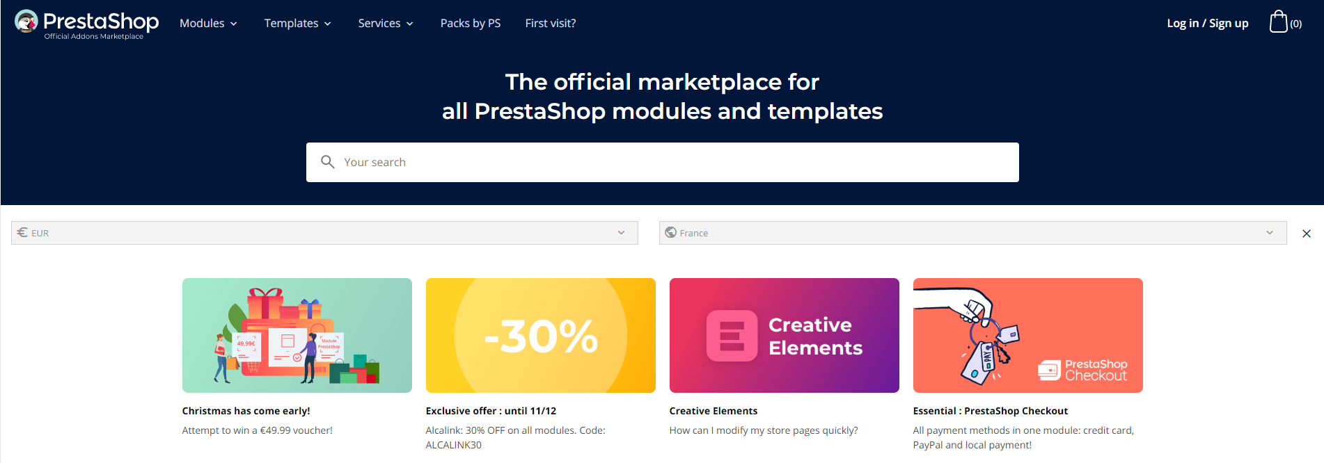 Marketplace Addons PrestaShop