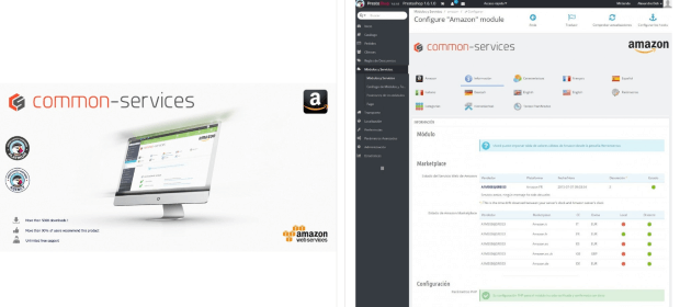 Amazon Market Place Modul Addons PrestaShop