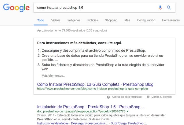 Featured snippet tendencia seo