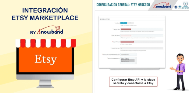 Knowband Etsy Marketplace Integration Modul PrestaShop Addons