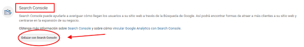 search console 05 verificacion analytics