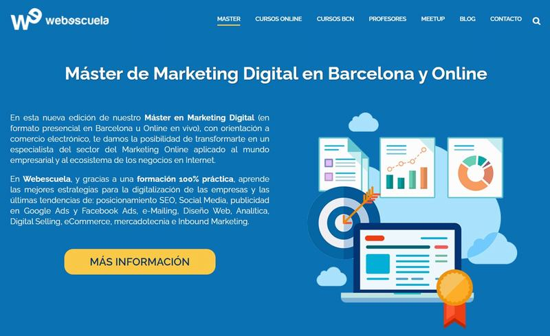 Máster en Marketing Digital de Webescuela