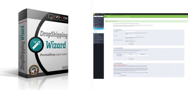 Módulo Dropshipping Wizard